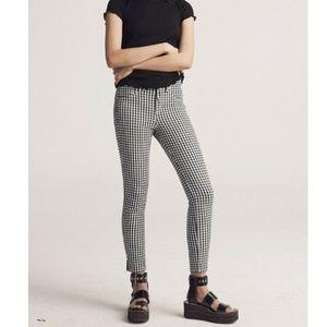 Rag & Bone Gingham 10inch Capri Pants Size 27 2998